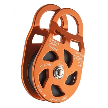 RESCUE pulley - Aluminium rescue pulley – alloy, 5 cm